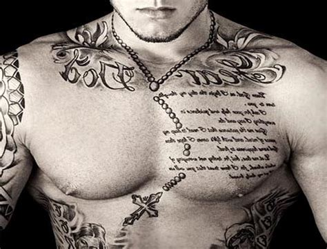 words tattoo designs for men chest tattoos designs for best design