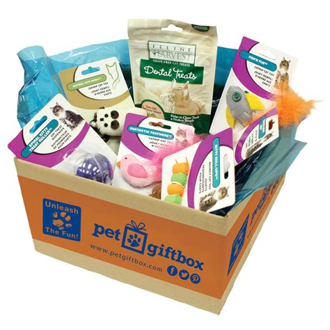Box Pets pet gift box review giveaway paw print