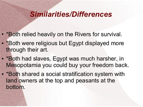 11 Similarities Of And by Comparison Of Early Mesopotamia And Early