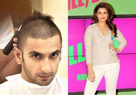 parineeti chopra finds ranveer singh s bald look