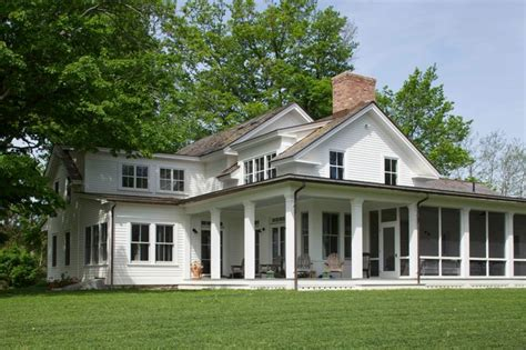 Farmhouse Wrap Around Porch by 19th Century Farmhouse Renovation Updated Photos By Mick