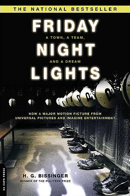 Friday Bight Lights by Review Friday Lights The Literary Omnivore