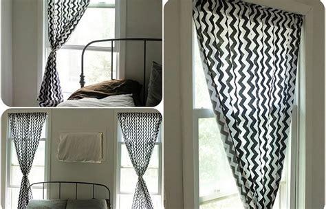 vorhänge für kleine fenster wohnzimmer inspiration braun