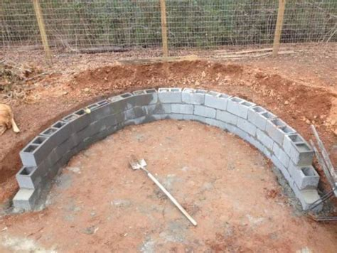 Building A Firepit With Pavers Visual Guide For Building A Backyard Pit With Blocks And Stones 18 Pics Izismile