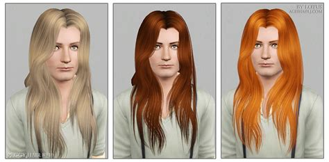 the sims 3 male long hair peggy s hairstyle 810 for male retextured by lotus sims