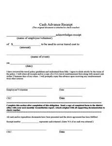 advance policy template advance receipt free