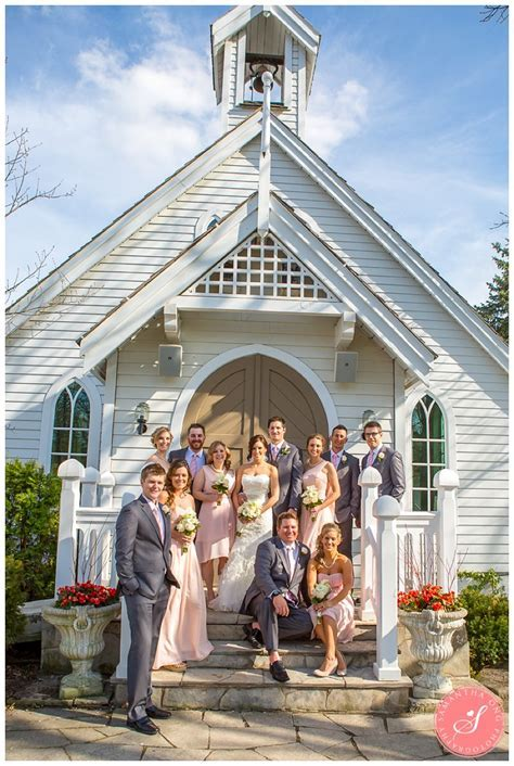 Kleinburg Doctor's House Wedding Photos   Pretty Pink & Gold
