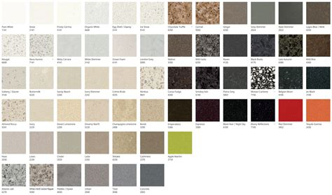 caesarstone colors products prestige