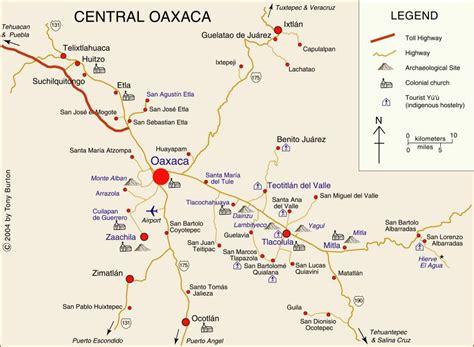 oaxaca mexico map clickable interactive map of oaxaca valley mexico oaxaca city mitla monte alban