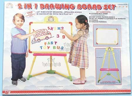 Color Drawing Board 201 1 Toys Ea1s 2 in 1 drawing board set 318b