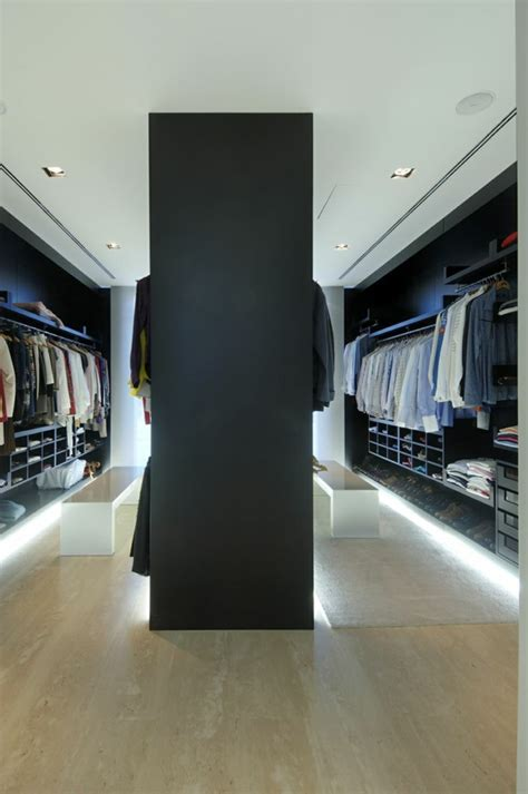 begehbares ankleidezimmer ideen luxus begehbarer kleiderschrank 120 modelle archzine net
