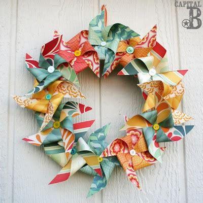 inspired  fabulous diy summer wreaths   nest
