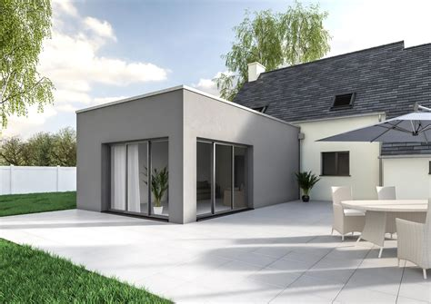 Maison Avec Extension extension de maison contemporaine pour agrandir sa maison