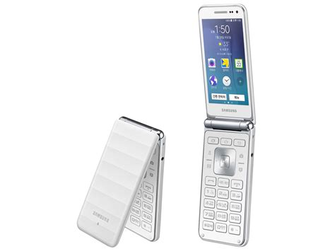 Samsung Folder Samsung Intros A New Galaxy Folder Android Clamshell In