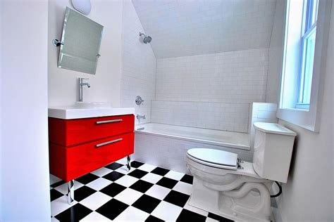 Flooring Ideas For Bathrooms red black and white interiors living rooms kitchens