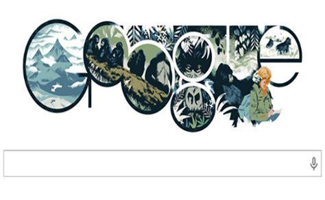 Doodle Para Dian Fossey Acuchillada En La Niebla Exc 233 Lsior