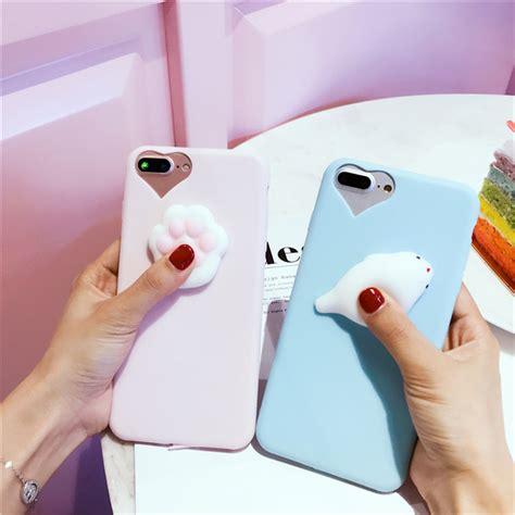 Squishy 3d Casing Lucu Unik Samsung J5 Prime lovely 3d squishy cat silicone tpu phone for samsung galaxy s8 plus s6 s7 edge