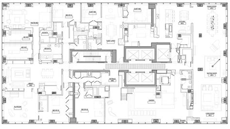 Large Mansion Floor Plans ultra luxury design a billionaire s penthouse in new york