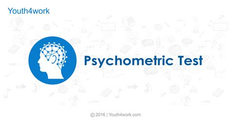 psychometric test psychometric test youth4work