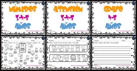 imagenes educativas para preescolar cuaderno de trabajo escritura atenci 243 n y n 250 meros para