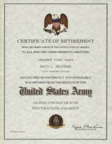Certification Letter For Retirement Obama Certificate Of Appreciation Retirement Submited Images