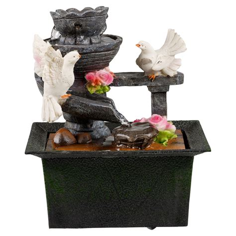 mini waterfall for desk waterfall water fountain calming feng shui effect indoor
