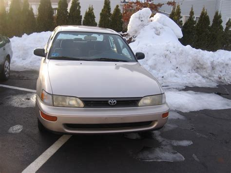 1994 Toyota Corolla 1994 Toyota Corolla Pictures Cargurus