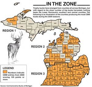 Michigan Dmu Map by 2011 Michigan Deer Forecast Game Amp Fish