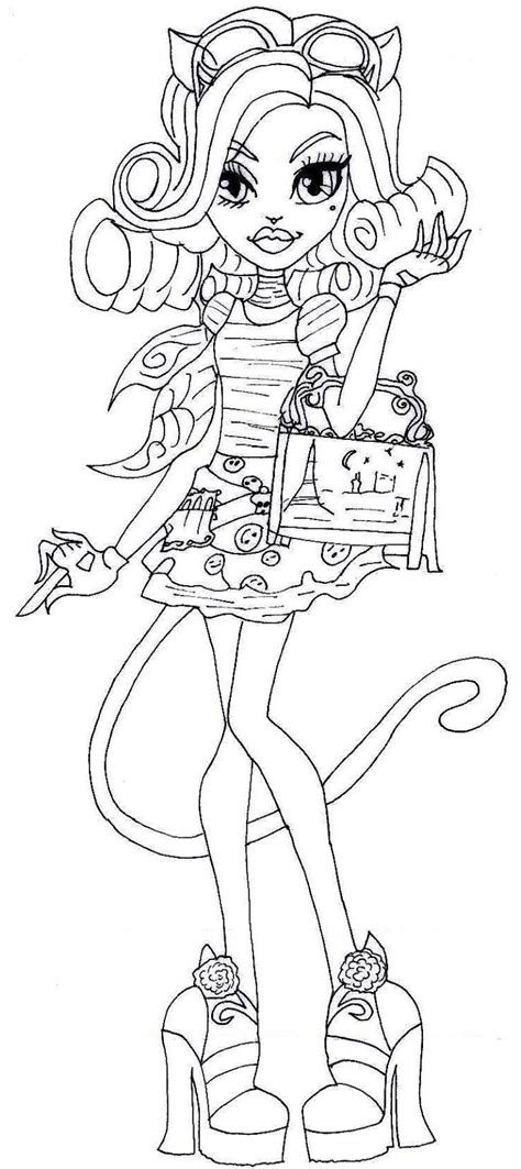 monster high coloring pages 13 wishes gigi free monster high 13 wishes coloring pages
