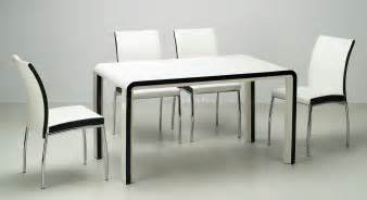 black beige modern dining room table w optional chairs