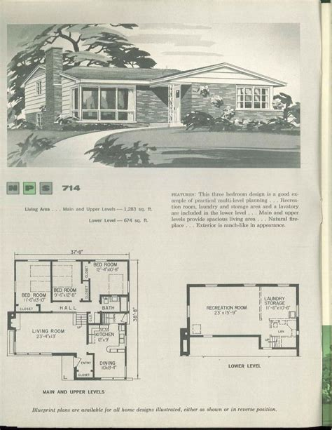 1960s house plans 1000 images about vintage house plans 1960s on pinterest