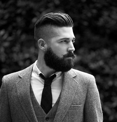 haircuts for men with beards 50 hairstyles for men with beards masculine haircut ideas