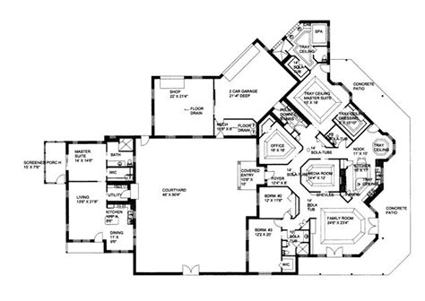 Courtyard Apartment Floor Plans Pin By Floyd Gary Clyne On Home Plans