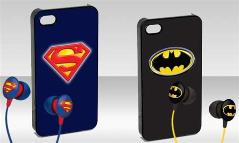 Casing Iphone 5 5s Superman L0141 batman or superman iphone 5 groupon goods