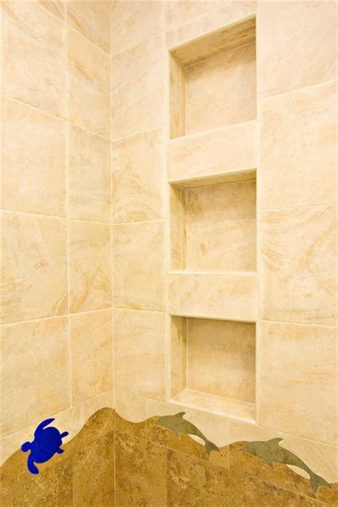bathroom shower shelving bathroom shower shelving niche bench