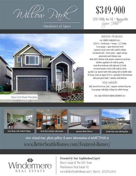 microsoft word real estate flyer template free convoy