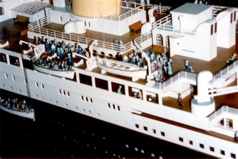 Sinking Of Rms Titanic by Hitchcock Models Dioramas R M S Titanic