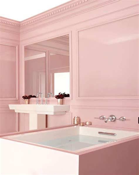 pink and white bathroom pink and white bathroom roundup emily henderson