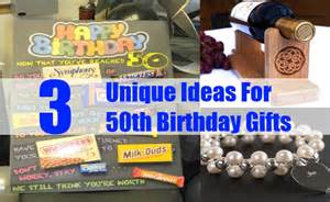 Unique ideas for 50th birthday gifts 50th birthday gifts ideas