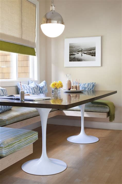 Modern Banquette by Kitchen Banquette Kitchen San Francisco By Jute Interior Design