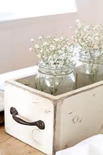 Style decor ideas weathered white mason jar decor rustic ideas