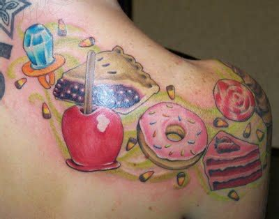 candy shop tattoo kawaii tattoos