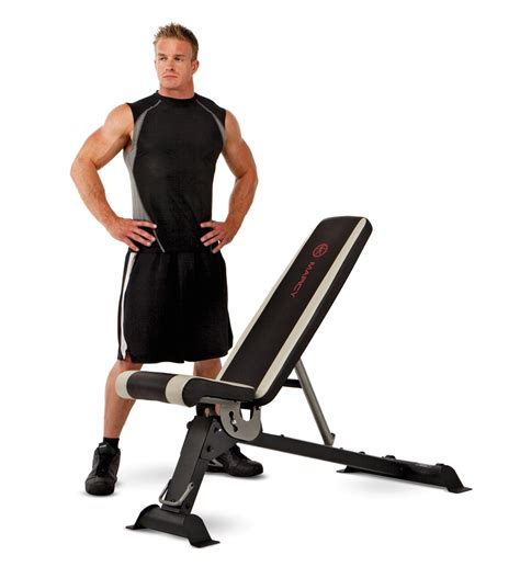 marcy adjustable utility bench sb670 marcy six position home gym workout utility slant board