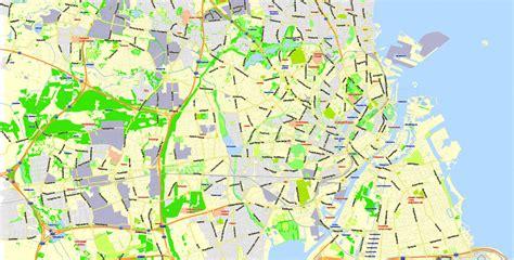 printable map copenhagen copenhagen k 248 benhavn printable vector map denmark g