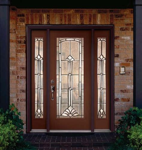Steel Or Fiberglass Front Door Fiberglass Steel Doors Traditional Exterior Ta By Us Door More Inc