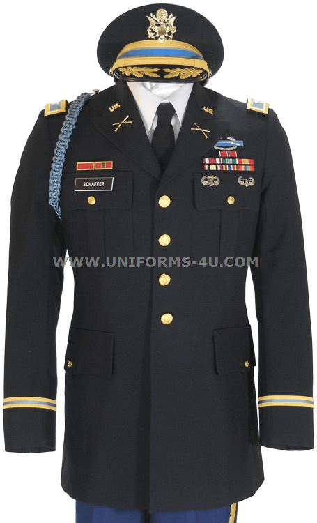 us army officer blue army service asu
