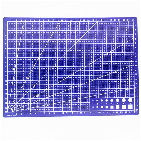 Fabric Cutting Mat by 1 Pcs A4 Grid Lines Self Healing Cutting Mat Craft Card