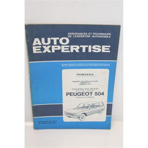 Sra Auto by Revue Auto Expertise Fiches Sra Peugeot 504 Vintage Garage