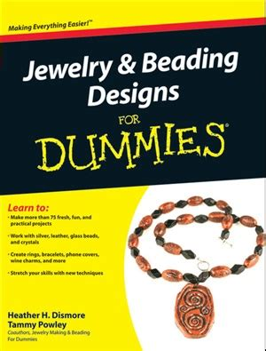 jewelry and beading for dummies dismore h powley tammy jewelry beading