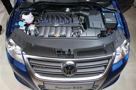 r36 motor foto v6 motor mit 300 ps im passat r36 essen motor show